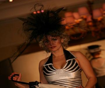 Fashion show hats