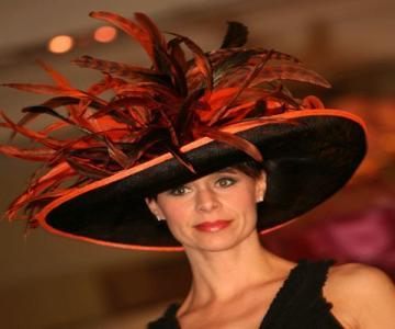 Fashion show hat