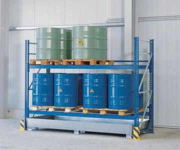 Drum Storage with Sumps